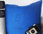 Personalized pillow with ...