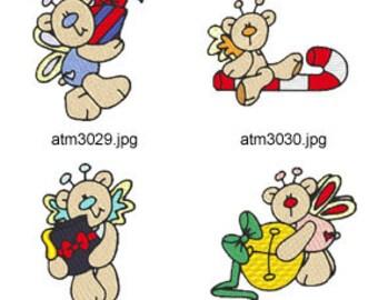 Christmas-Butterfly-Bears