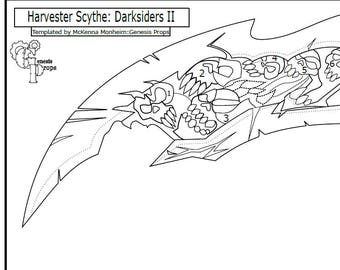Harvester Scythe (Template): Darksiders II
