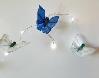 Handmade Butterflies LED String Lights Garland
