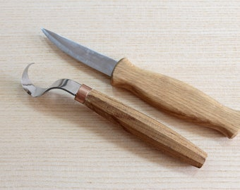 Spoon carving knives spoon carving tools hook knife wood carving tools set for spoon carving spoon carving set woodcarving tools wood spoon