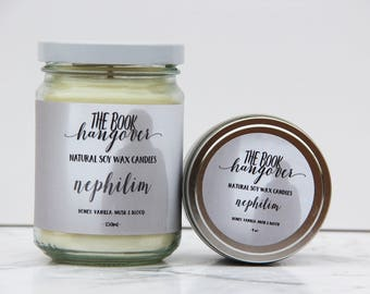 Nephilim - A Mortal Instruments candle