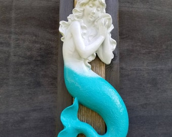 Mermaid Wall Decor/ Mermaid Wall Art/ Mermaid Statue / Mermaid Decor / Mermaid Figure / Mermaid Nursery/ Mermaid