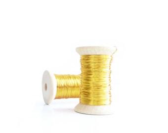 Bare Brass wire 0.315mm