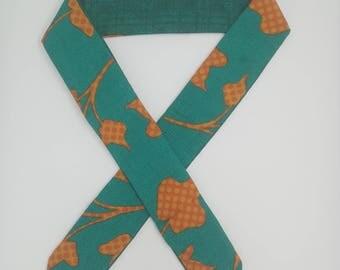 Headband made from upcycled Indian sari