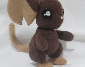 Felt Mouse Plush