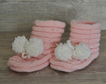 Baby shoes -pink