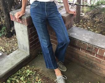 Mens Vintage Dior Jeans 70's Size 33
