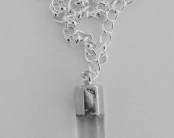 Silver Gem Necklace