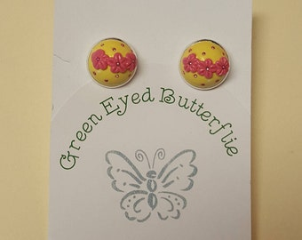 OOAK Polymer Clay Earrings