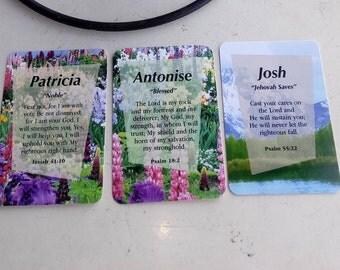 Inspirational Namecards
