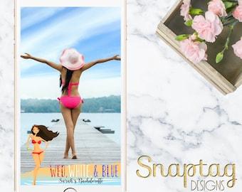 Custom Snapchat Geofilter|| bachelorette, wed white blue, america, vegas, birthday, custom, filter, beach, miami, mr and mrs, gold, glitter
