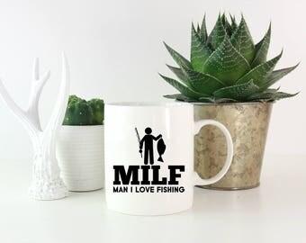 Fishing mug etsy for Gift ideas for fishing lovers