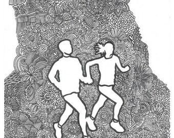 Zentangle Runners - Little Runners