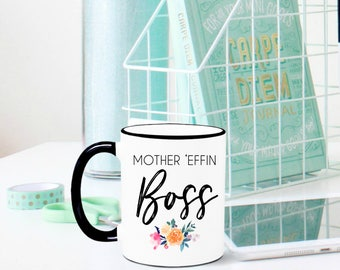 Boss Mug, Boss Gift, Boss Appreciation, Gift for Boss, Gift for Manager, Boss Babe, Boss Lady, Like a Boss, Best Boss, Girl Boss, Coffee Mug