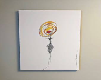 Digital Abstract Woman