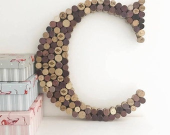 Recycled Wine Cork Memo Board - Letter