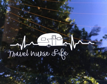 Travel Nurse Life - Retro