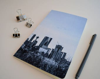 Dotted Grid Notebook Calgary Bullet Journal YYC Souvenir Bujo Pages Dot Grid Journal Notebook Lined Journal Sketchbook Unlined Journal Graph