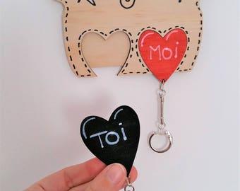 Les portes clés d'amour