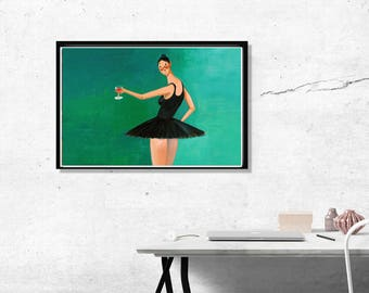Custom Kanye West Art Poster, Hypebeast Posters Prints, Yeezy Poster Art Print My Beautiful Dark Twisted Fantasy Wall Prints, Kim Kardashian
