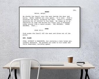 Point Break - Screenplay Movie Poster