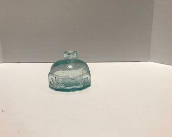 Turtle Glass Ink Bottle J & IEM