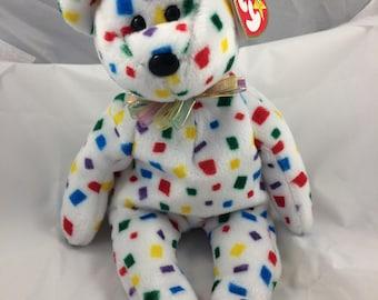 TY Beanie Baby  2K  Born January 1 Original MWT Gift Quality
