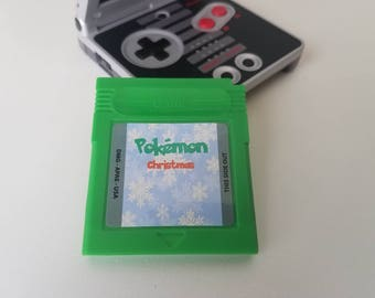 Pokemon Christmas Version Nintendo Game boy gbc gba gba sp (Fan Made Game) Gameboy Color (Green or Red)