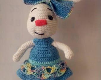 Crochet toy Amigurumi toy Easter toy bunny