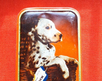 Vintage Sharps Toffee Tin Dalmatian