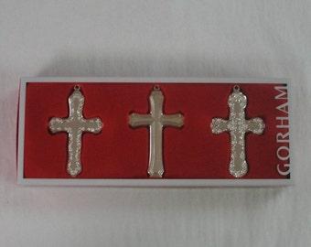 Gorham Cross Ornaments
