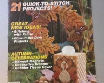 Quick & Easy Plastic Canvas Magazine No. 20 Oct/Nov 1992