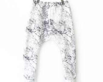 MARBLE harem pants for baby & child