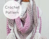 What You Love Shawl | Crochet Pattern | PDF Digital Download | The Unraveled Mitten | Triangle Shawl | Triangle Scarf