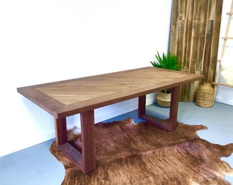 Raymond - Solid Walnut Dining Table