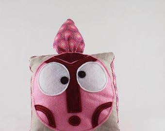 Decorative blanket - Berlingot Totem - handmade