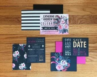 The Catherine Collection Alternative--Three-Piece Wedding Invitation Suite (Pack of 10)