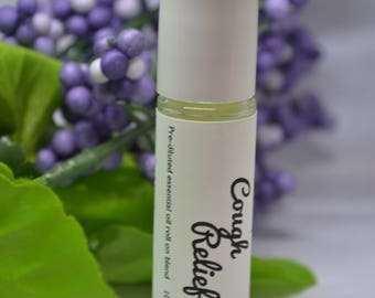 Cough Relief Essential Oil Blend Roll On