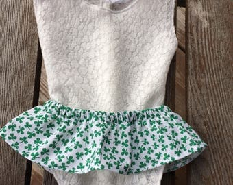 Infant photo prop, cotton skirt, pink white anchors, multiple other colors, elastic waist