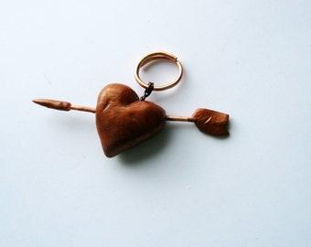 HEART with arrow, pierced hearts.