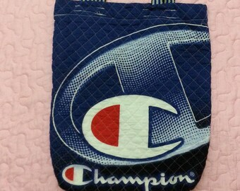 CHAMPION Tote Bag//Big Logo Spell Out