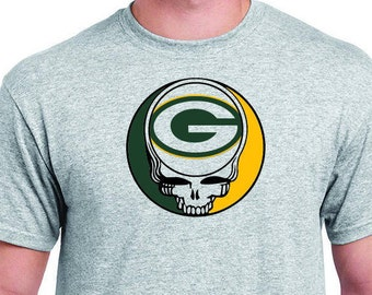 Greenbay Packers Steal Your Face T Shirt
