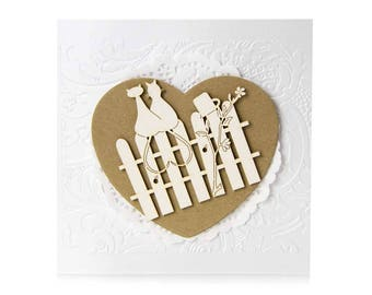 Wedding Invitation, Custom Invitations, Handmade, Custom Printed