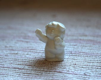 White porcelain angel.