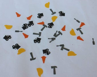 Construction Party Supplies - Tools Confetti - Construction Birthday - Construction Birthday Party Supplies - Construction Birthday Party