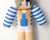 Little Carly Minecraft Plush Toy