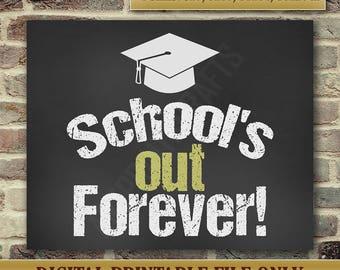 Graduation Gift - Graduation Card - High School Graduation - Funny Graduation Card - College Graduation - Instant Printable DIGITAL FILE JPG