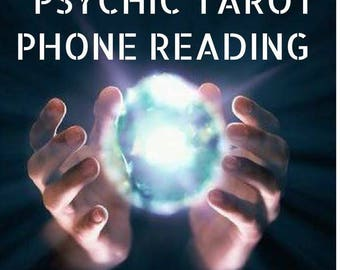 30 Min Psychic Tarot Telephone Reading,  Love, Life, Career, by Reader of 28 years experience