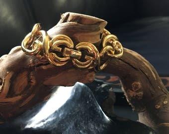 Vintage Givenchy Gold Bracelet